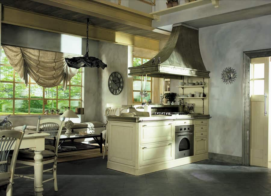 vintage chic kitchens from marchi cucine. Black Bedroom Furniture Sets. Home Design Ideas