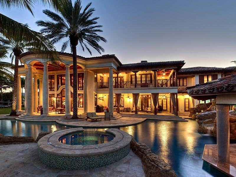 featured posts image for Majestic Mediterranean-style waterfront estate