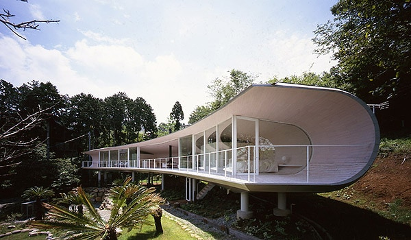 featured posts image for Crescent House with fabulous views of Mt. Fuji