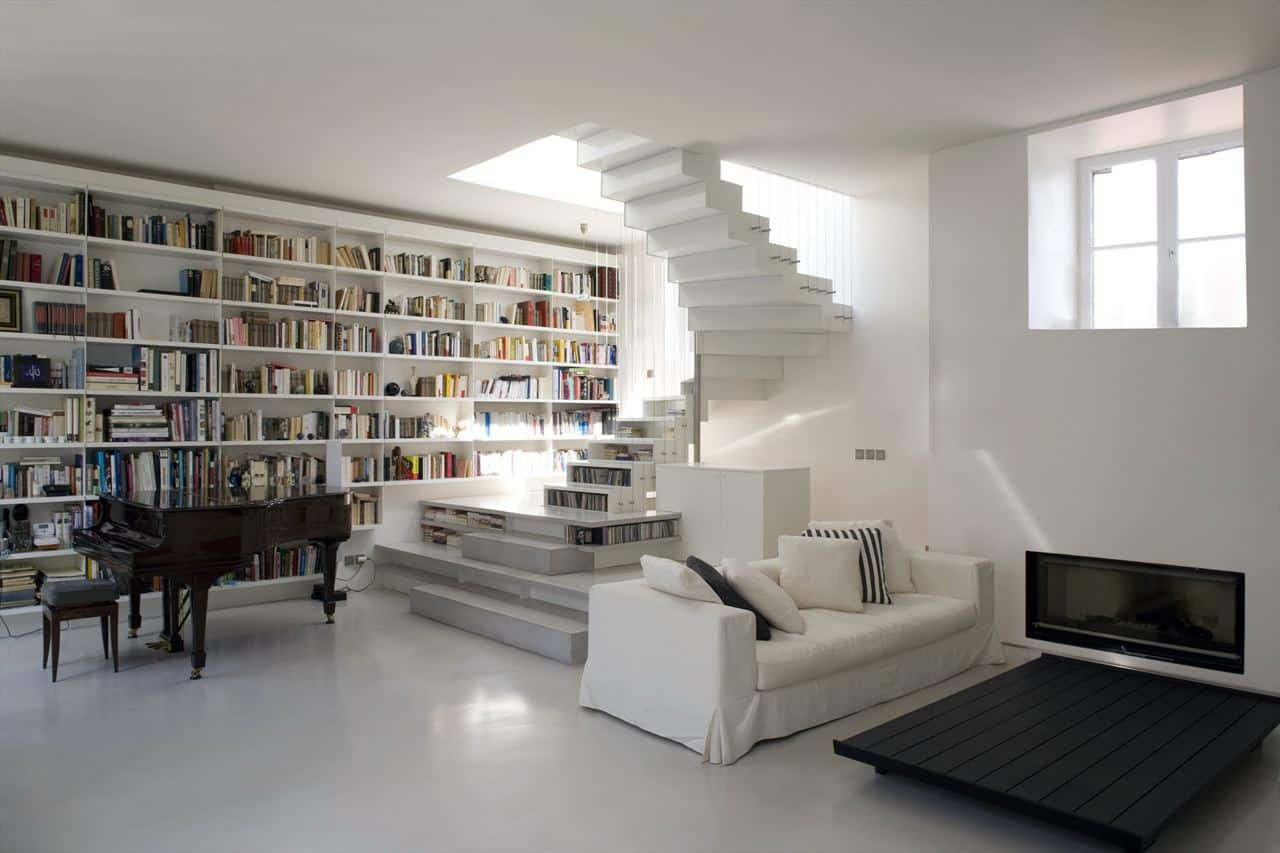 featured posts image for Exceptional white on white loft in Paris