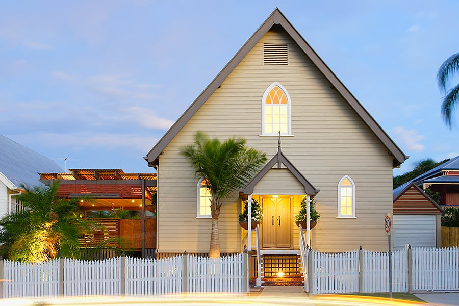featured posts image for Church converted into a stunning Brisbane home
