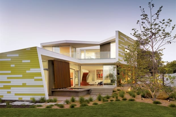 featured posts image for Playful and modern residence in Santa Monica