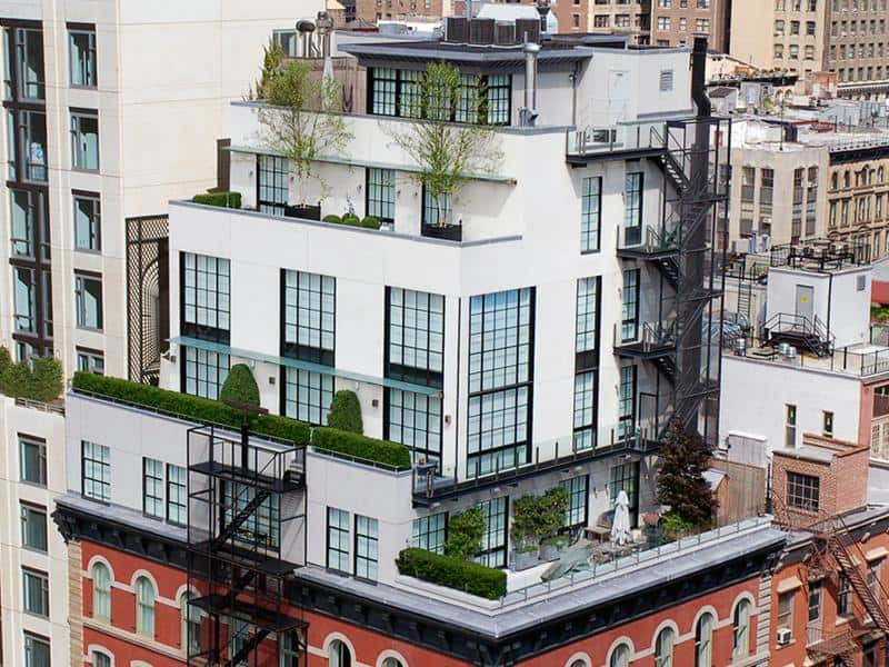 featured posts image for A townhouse in the sky in TriBeCa