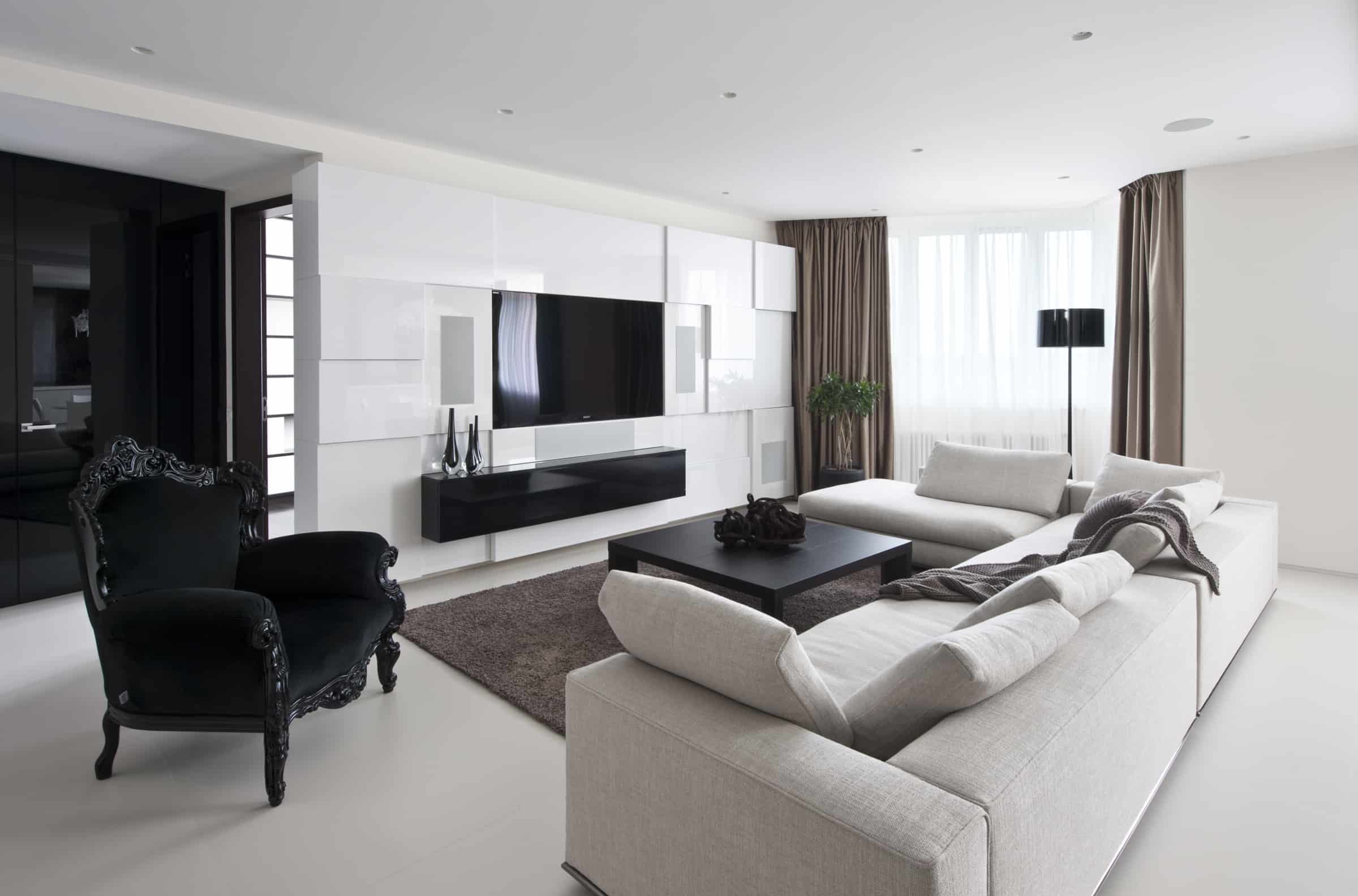 featured posts image for Modern-elegant apartment interiors in Moscow