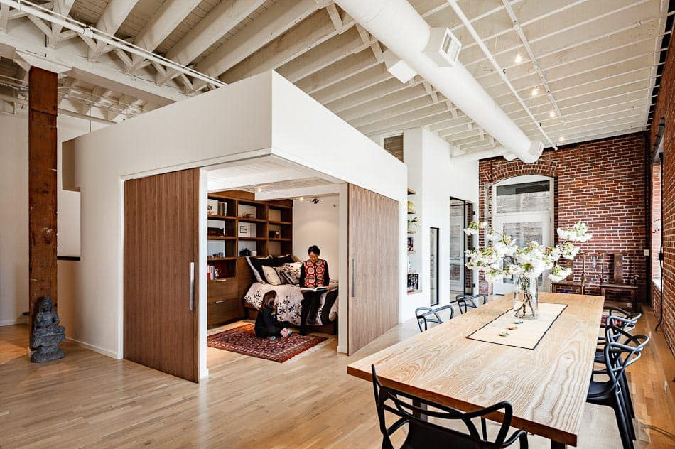 featured posts image for Uniquely renovated loft houses three generations