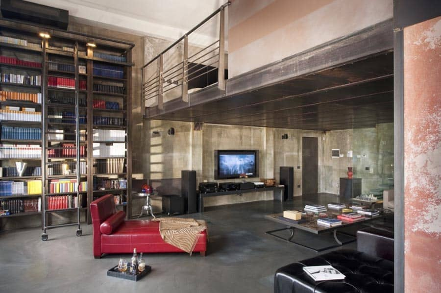 featured posts image for Amazing old factory loft transformed in Milan