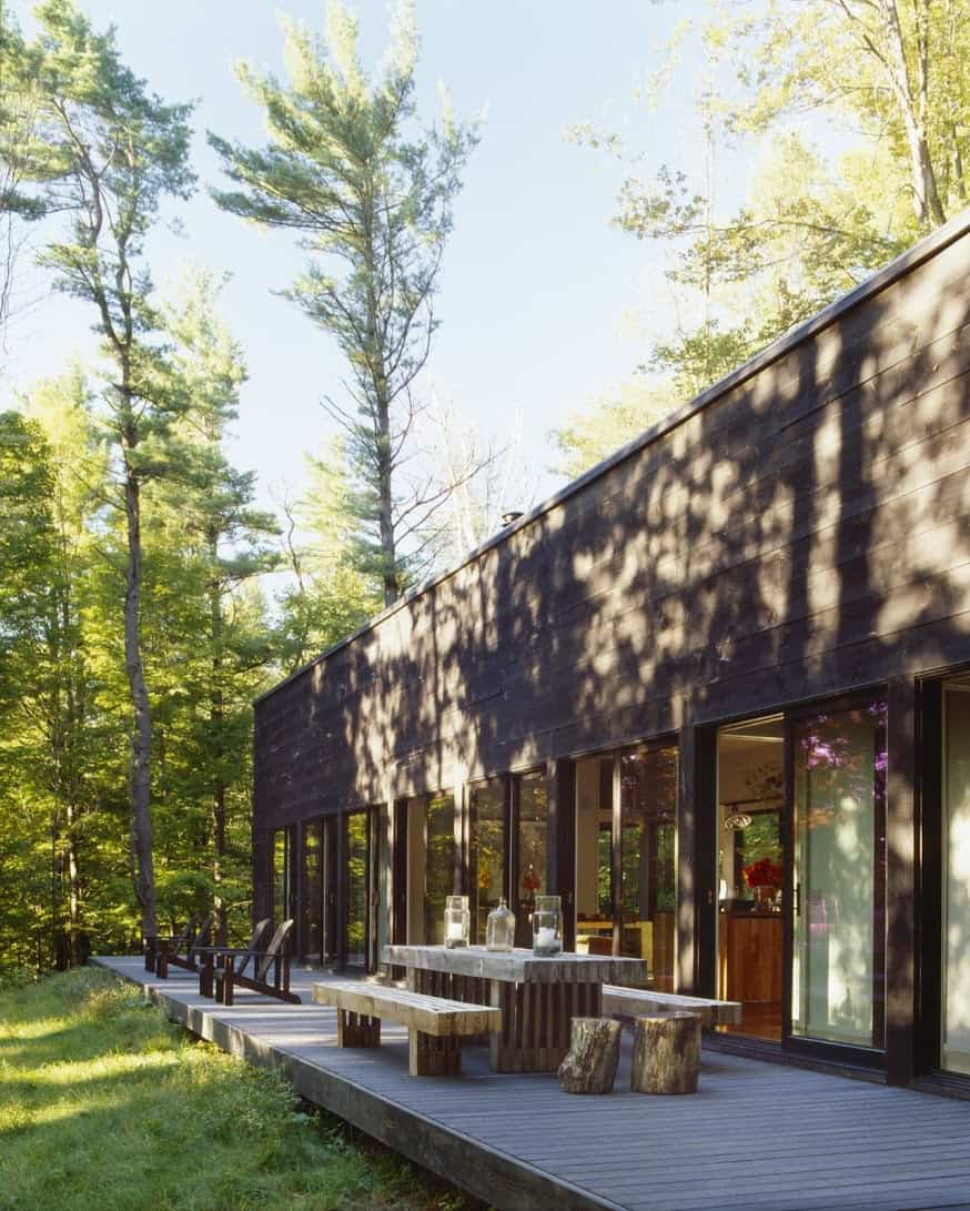 featured posts image for Dwelling in the forest with charming details