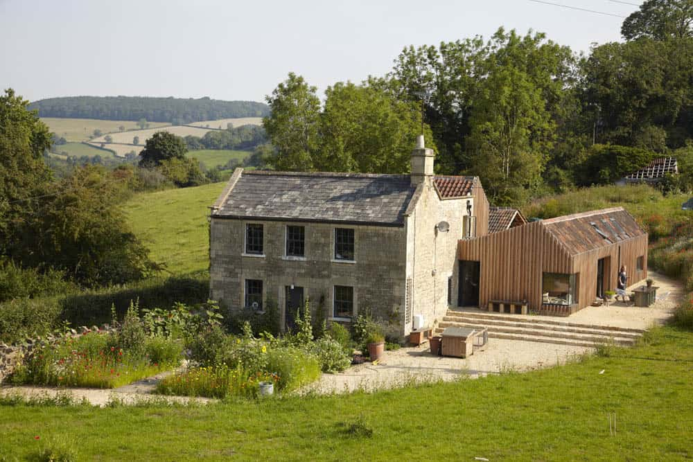 featured posts image for Rustic farmhouse transformed in England