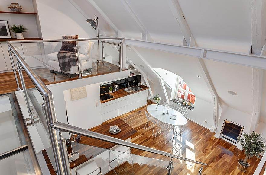 featured posts image for Lavish Stockholm penthouse with delightful details