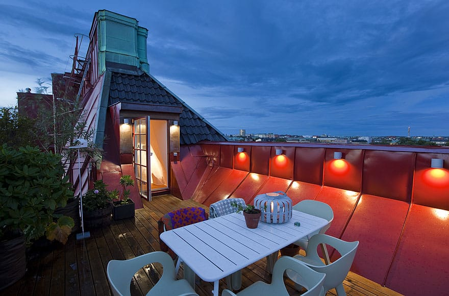 featured posts image for Östermalm penthouse with fabulous rooftop deck
