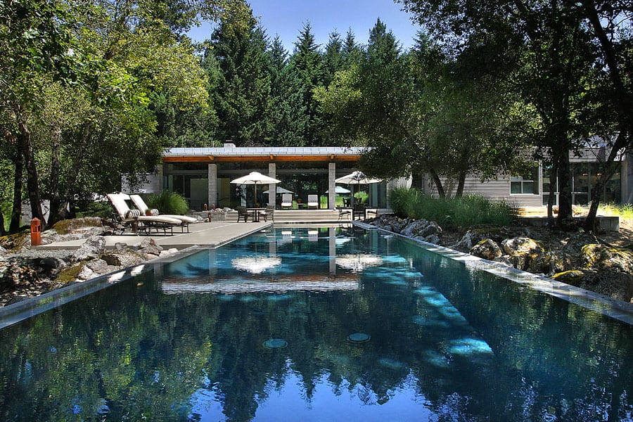 featured posts image for Steel and glass home in Napa Wine Country
