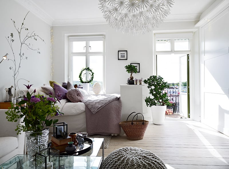 featured posts image for Functional yet stylish 40 square meters Swedish flat