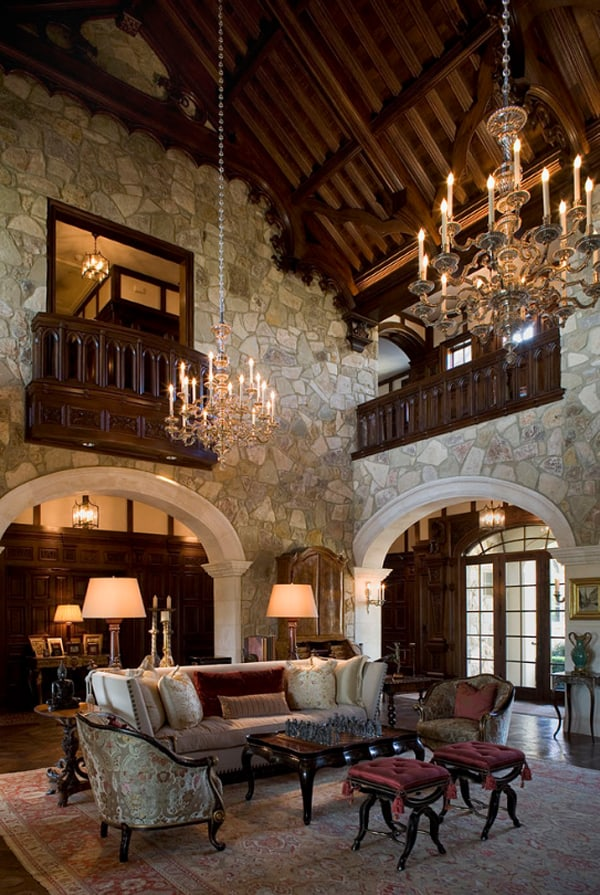 Opulent French Chateau Inspired Castle In Austin