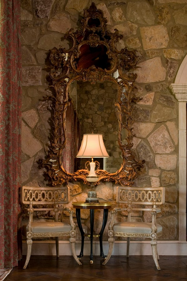 Opulent Traditional Style Formal Dining Room Furniture Set: Opulent French-chateau Inspired Castle In Austin