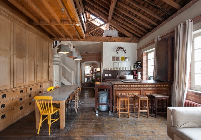 featured posts image for Industrial-chic loft in historic Ragged School