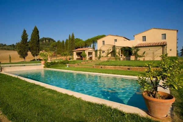 Elegant and luxurious retreat in tuscany for Allied gardens swimming pool