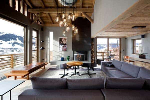 featured posts image for Mesmerizing mountain cabin in the French Alps