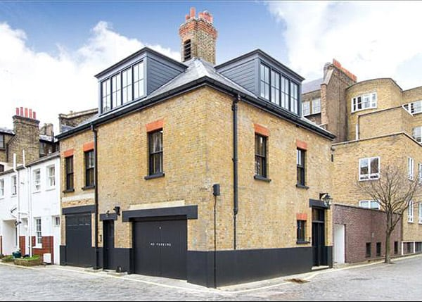 featured posts image for Exceptional London mews house transformed