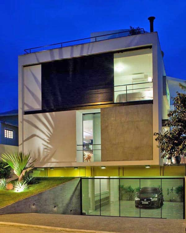featured posts image for Striking multi-level modern dwelling in Sao Paulo
