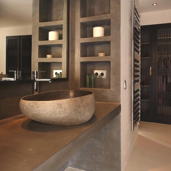 Sumptuous luxury villa on the island of ibiza for Sunset bathroom designs