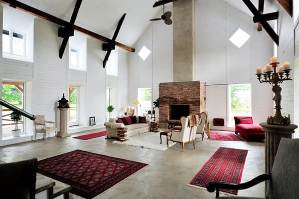 featured posts image for Charming Swedish farmhouse with sumptuous interiors