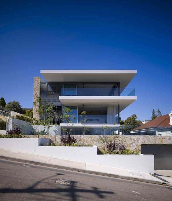 featured posts image for Modern and sleek home overlooking Sydney Harbour