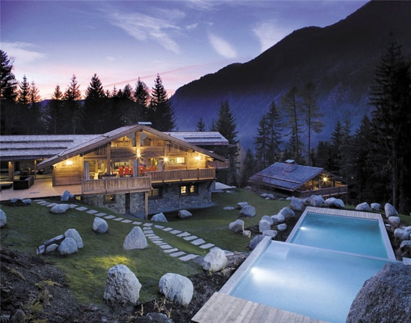 featured posts image for Elegant and exclusive chalet complex in French Alps