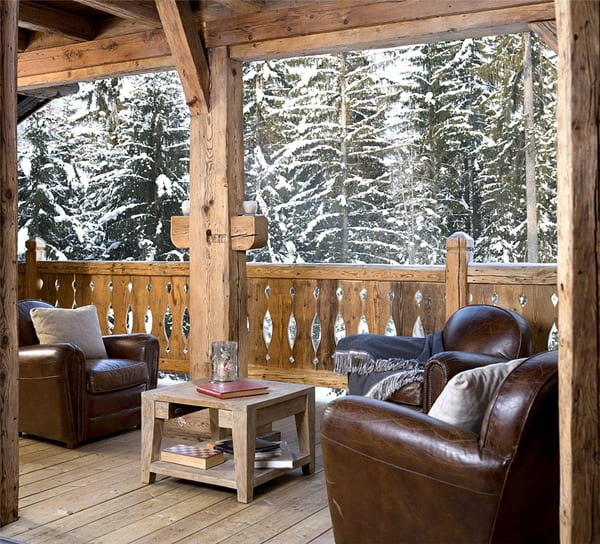 Elegant And Exclusive Chalet Complex In French Alps