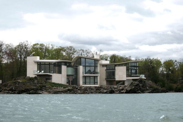 featured posts image for Ledgerock Residence with Hudson River views
