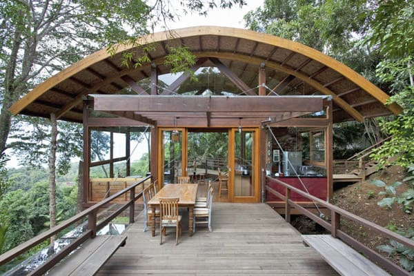 featured posts image for Praia do Felix Beach House in the Brazilian forest