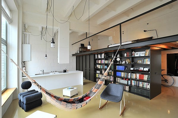 featured posts image for Loft apartment in former radio technics factory