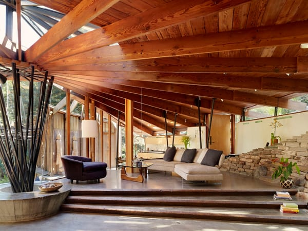 featured posts image for A mid-century tree house in Mill Valley: Radius House