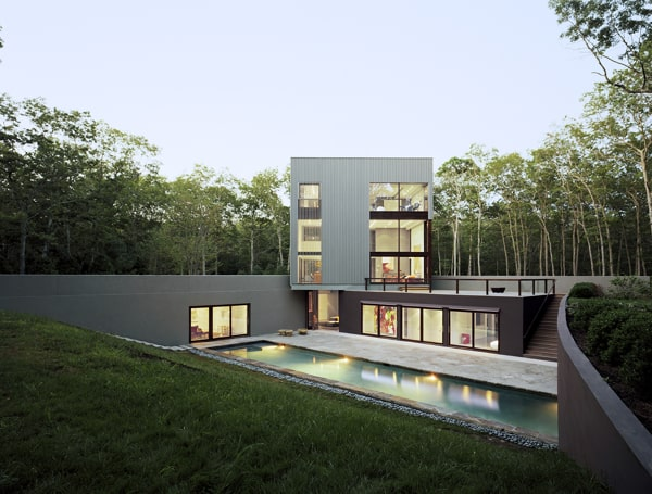 featured posts image for Modern home integrated within a scenic landscape