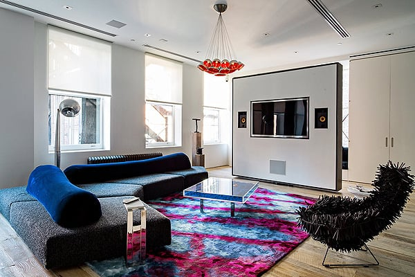 featured posts image for Contemporary NYC loft with impeccable design