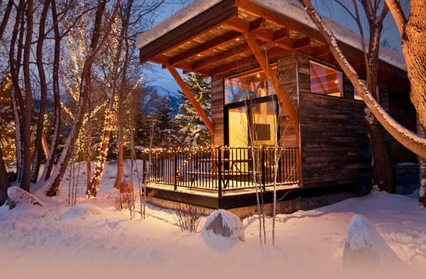 featured posts image for Fireside Resort luxury ski cabins in Jackson Hole