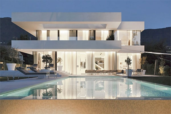 featured posts image for Sumptuous modern dwelling in Italy: House M