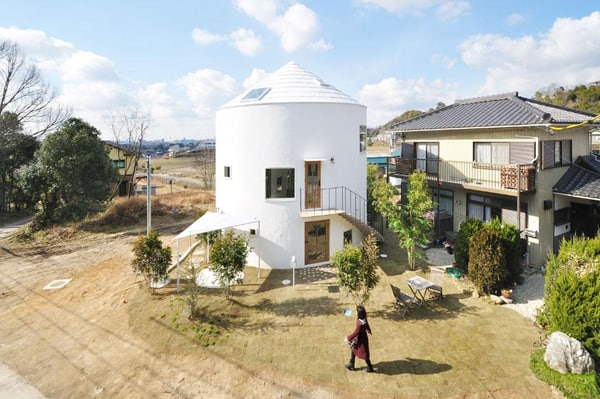 featured posts image for Cylindrical house reminiscent of a yurt in Japan