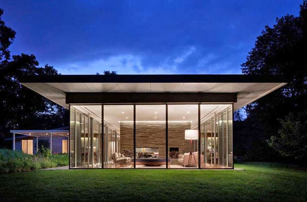 featured posts image for Contemporary glass house in New York