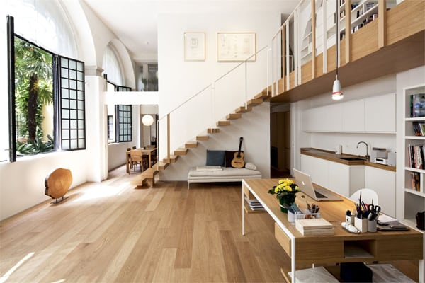 featured posts image for 18th century horse stable converted into artist's loft