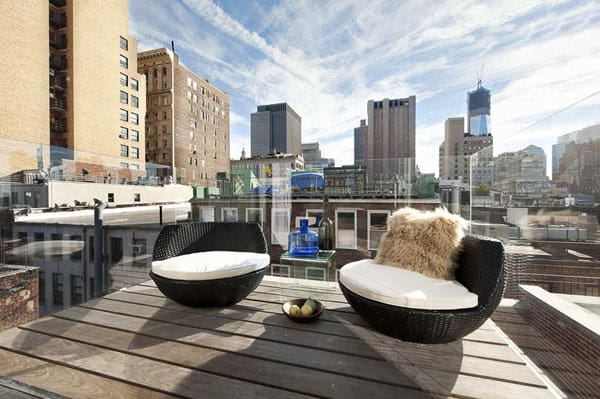 featured posts image for Luxurious industrial-chic duplex apartment in TriBeCa
