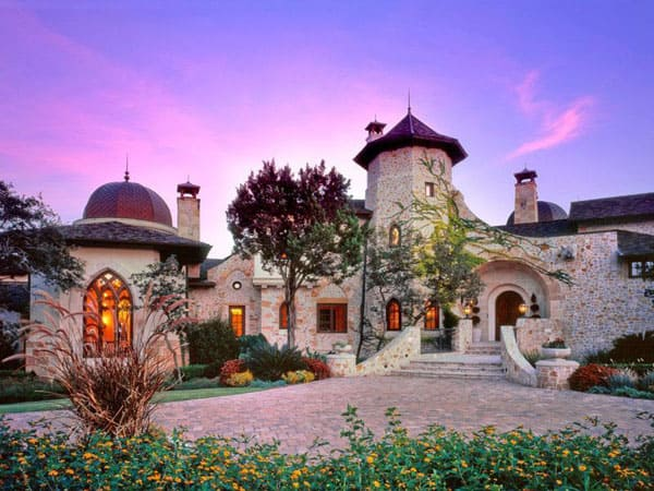featured posts image for Majestic Moorish-style Castle in the Woods