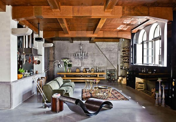 featured posts image for Industrial-chic urban loft in Budapest