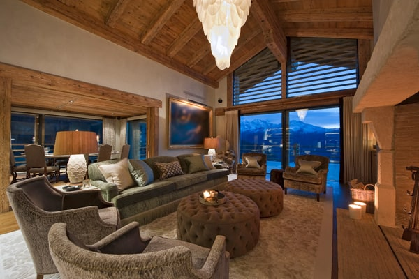 featured posts image for Luxury Chalet Norte nestled in the Swiss Alps