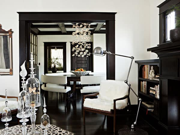featured posts image for Glamorous foursquare home with elegant touches