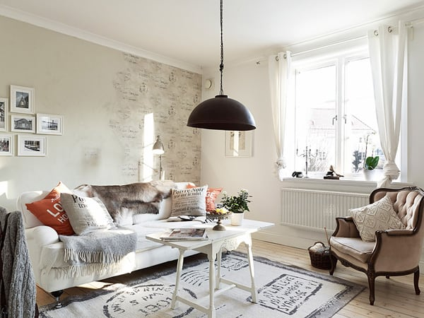 featured posts image for Stylish and cozy small apartment in Bagaregården