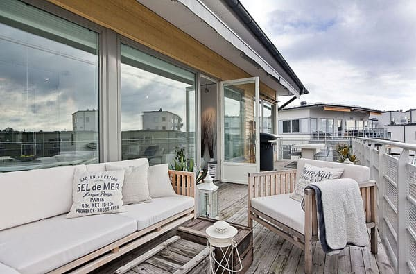 featured posts image for Trendy Swedish flat on the island of Lilla Essingen