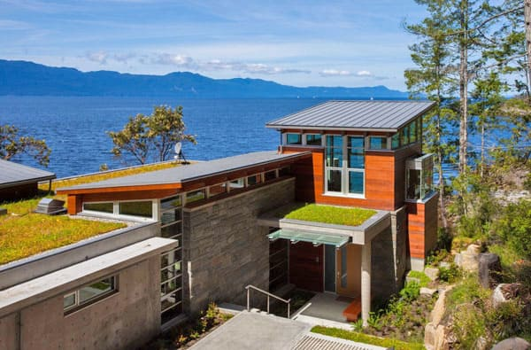 featured posts image for Dramatic waterfront retreat on Pender Harbour
