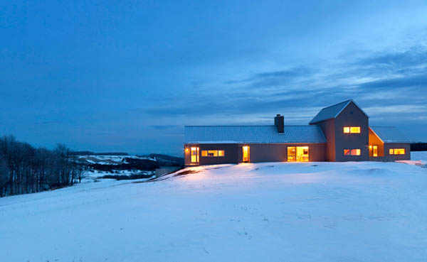 featured posts image for Contemporary farm house retreat in Ontario