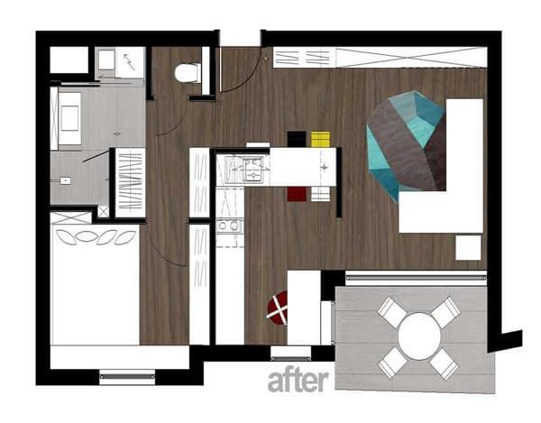 40 m2 Flat-20-1 Kind Design