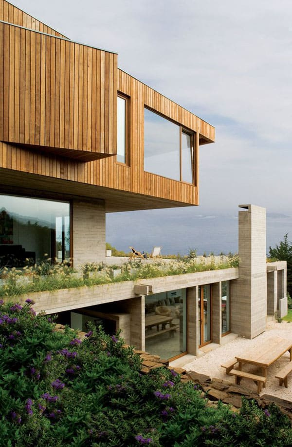 featured posts image for Wood-cladded dwelling in Chile with ocean views